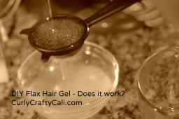 DIY Flax Hair Gel – Does it work?