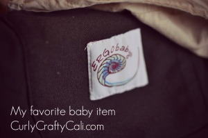 favorite baby item