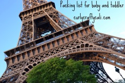 Packing list for a toddler and a baby – airplane travel