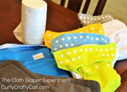 Why are diapers so complicated? An experiment with cloth diapering