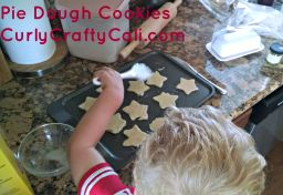 Pie dough cookies