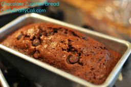 Chocolate Chip Zucchini Bread (for those giant zucchinis)